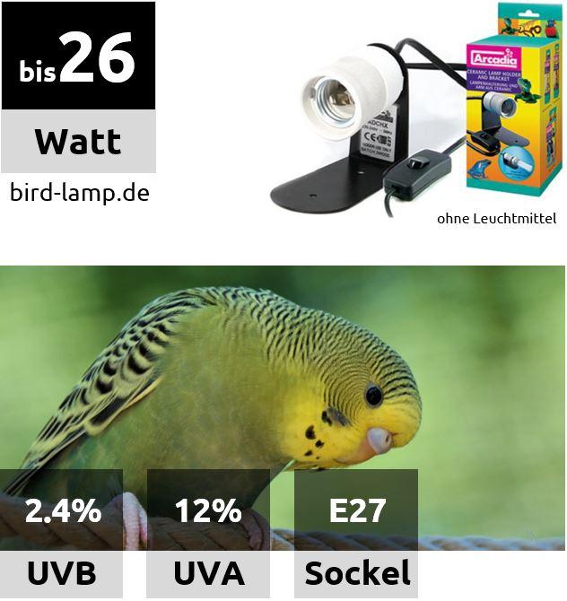 Arcadia Keramik Schraubfassung für UV-Kompaktlampen