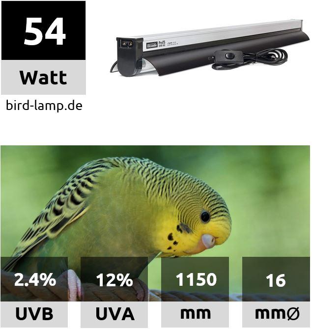 Arcadia Pro T5 Kit Set UV-Leuchtstoffröhre 54W