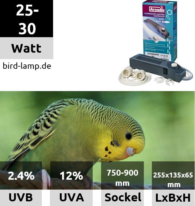 Ardacia Vorschaltgerät / Betriebseinheit für UV-Leuchtstoffröhren 30W