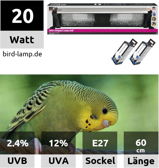 Bird Systems Bird Lamp – UV-Kompaktleuchte 60cm