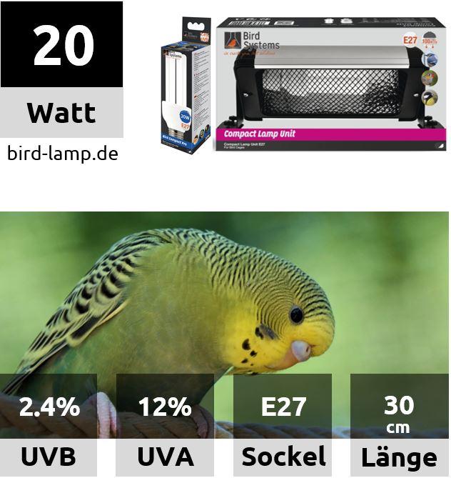 Bird Systems Bird Lamp – UV-Kompaktleuchte