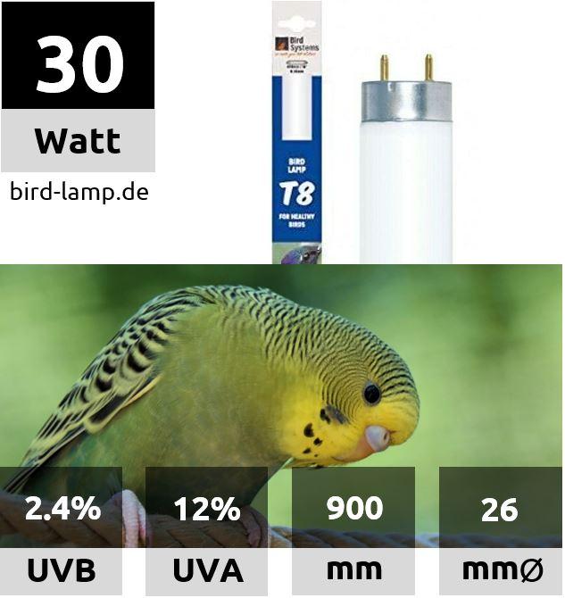 Bird Systems UV-Leuchtstoffröhre 30W