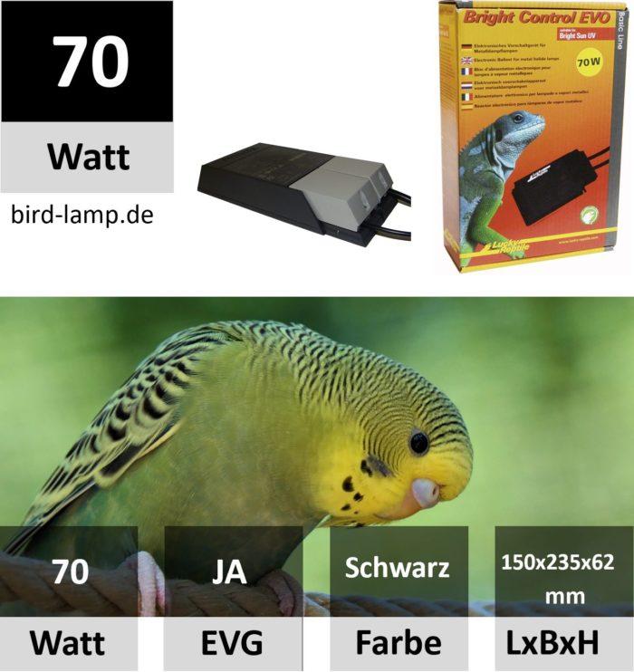 Lucky Reptile Bright Control EVO 70 Watt Vorschaltgerät